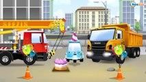 Camión - el Pequeño Camión - Carritos para niños - Pequeño Carros - Camión y el Sorpresa