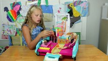 Canal des gamins chiot jouet ultime déballage Barbie mobile playset barbie fashionistas dol