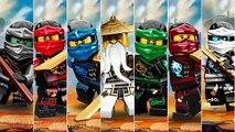 Jambe dessins animés pro le paradis des Lego Pirates contre les méchants nindzyago 6 nindzyago saison