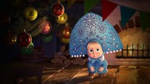 Las Historias Espeluznantes de Masha - Los Niños Miedosos y las rimas de Navidad (Audio Latino) HD