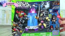 Teenage Mutant Ninja Turtles Mega Bloks Kraang Cryo Chamber Build! LIKE LEGOS! TMNT Out Of