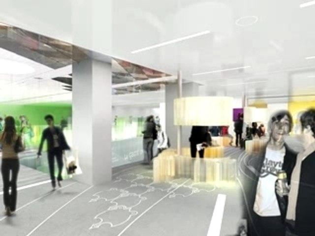 Projet d'architecture intérieure de la Gaité Lyrique