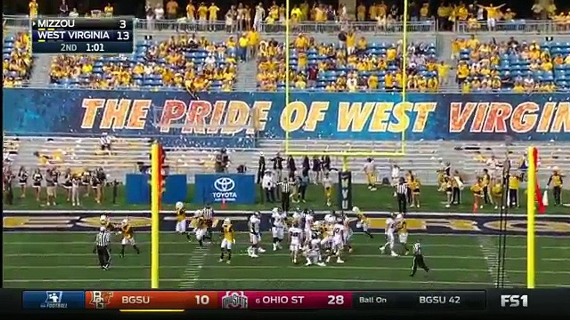 Missouri at West Virginia | 2016 Big 12 Football Highlights