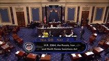 Senado de EEUU aprueba sanciones a Rusia y envía la ley a Trump