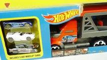 ألعاب سيارات أطفال شاحنة تحمل 50 سيارة هوت ويلز جديدة Hot Wheels Mega Hauler