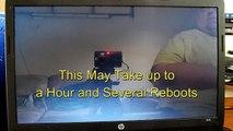 Hp Pavilion DV6646US Factory Reset Windows Vista (dv6000) - video