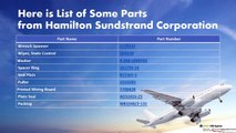 Hamilton Sundstrand Corporation Parts Supplier - ASAP AM Spares