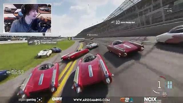 En ligne course course Forza 6 nascar nascar