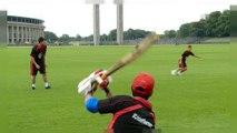 Le cricket, cadeau des réfugiés à l'Allemagne