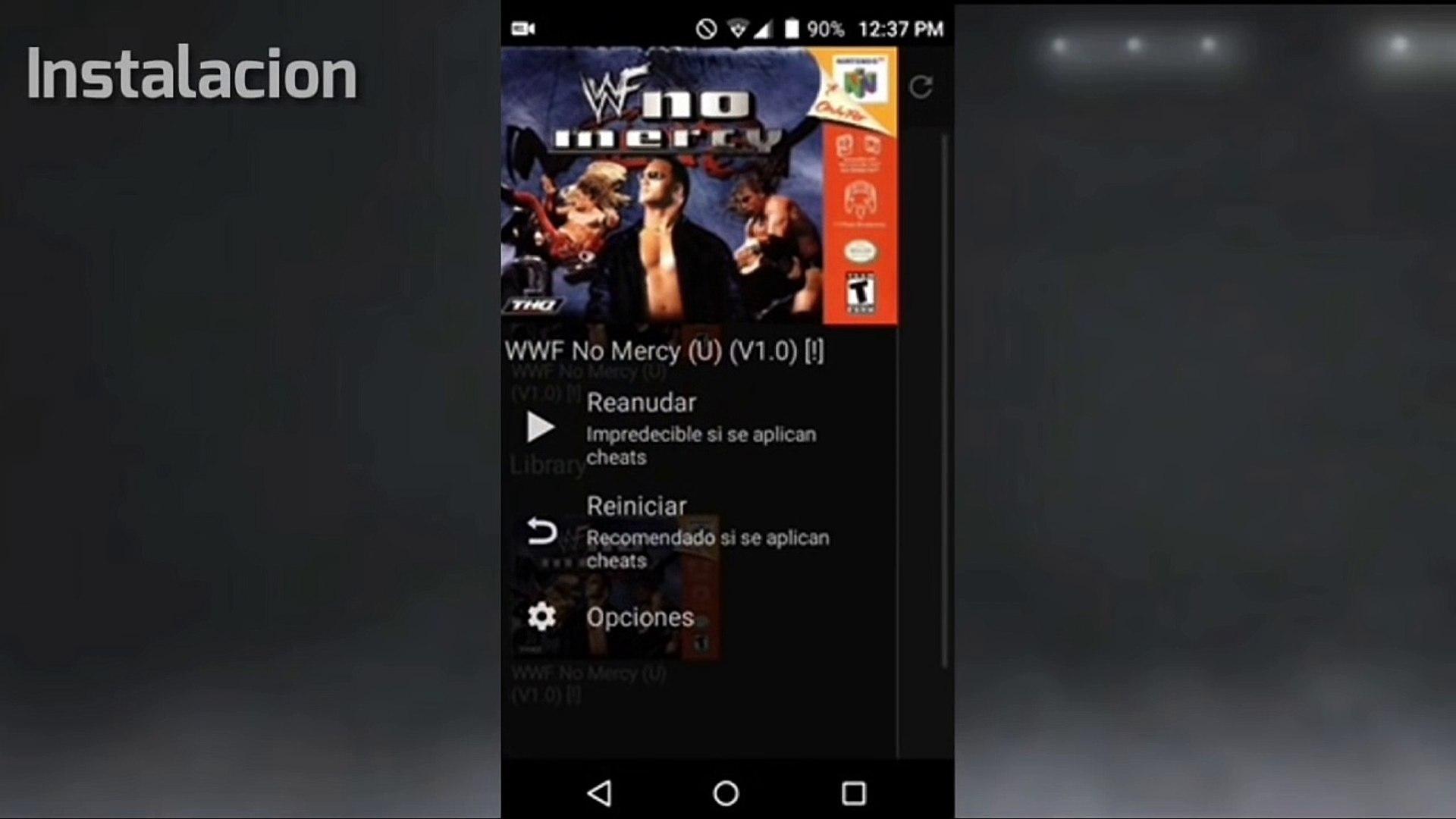 WWF No Mercy 2K17 Mod (Android)