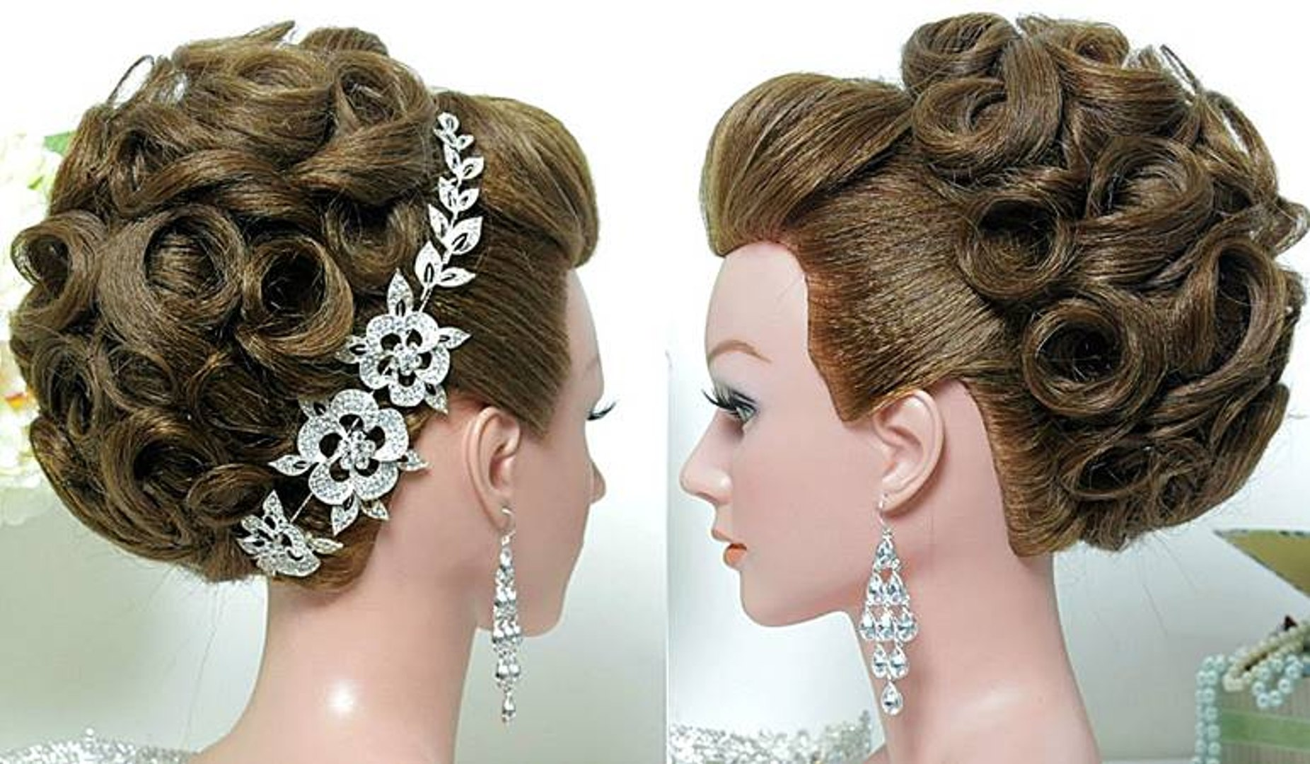 easy hairstyle tutorial bridal hairstyle
