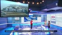 Saint-Nazaire : l'État nationalise temporairement les chantiers navals STX