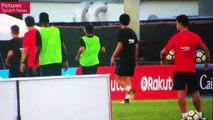 Pelea de Neymar con Nelson Semedo