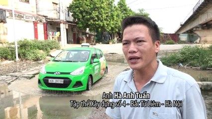 Dò đường bằng gậy giữa thủ đô Hà Nội