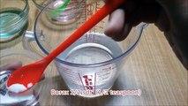 How To Make Jumbo Super Clear Slime | Cara Membuat Jumbo Clear Slime