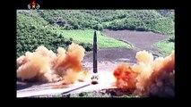 EUA detectam lançamento de míssil balístico da Coreia do Norte