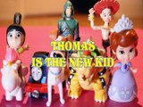 THOMAS & FRIENDS IS THE NEW KID AGNES GRU MAX GREEN ARROW BOWSER JESSIE SOFIA Toys BABY Videos, DESPICABLE ME 3 , THE SE