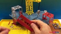 À pliant emploi emploi les machines boîte dallumettes puissant jouer Zone de construction playdoh 5 pack construction