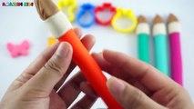 Jouer et Apprendre couleurs avec jouer pâte Canards moule amusement et Créatif pour enfants et