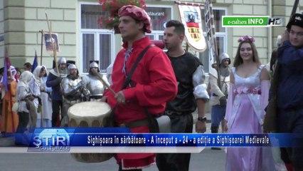 A început a 24 a ediție a Festivalului Sighișoara Medievală