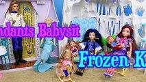 Et par par descendance poupée se fige gelé Jeanne enfants partie Elsa disney evie babysits 2 disneycart