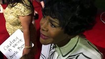 Tony and Emmy winner Cicely Tyson chats on 2016 Emmy Awards acting reception red carpet