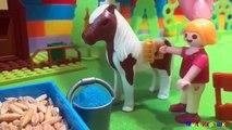 Niños para dibujos animados dibujos animados intruso con juguetes playmobil ple