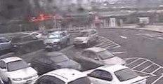 New CCTV Footage Emerges of Fiery Plane Crash at John Wayne Airport, Orange County