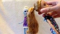 Après pomme tresser chignon bricolage poupée déjà cheveux coiffure haute Comment enfant faire faire faire à Il blanc