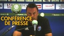 Conférence de presse FC Sochaux-Montbéliard - FBBP 01 (2-0) : Peter ZEIDLER (FCSM) - Hervé DELLA MAGGIORE (BBP) - 2017/2018