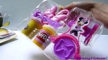 Souris pâte à modeler Ensemble jouets cintrent cheveux Minnie Mouse Minnie argile boutique carte HASBRO