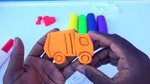 Et voiture les couleurs Créatif pour amusement amusement enfants Apprendre moules garderie jouer Entrainer Véhicules Doh ambulance r