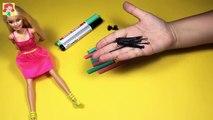 Tiret poupée pour cheveux enfants petit faire mon poney arc en ciel jouets tutoriel Barbie