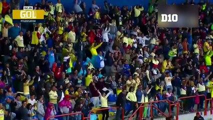 Gol de Domínguez en México