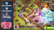 Clash of Clans - WORST BASE EVER! +527 TROPHIES? Epic Defensive Wins! So Many Trophies!