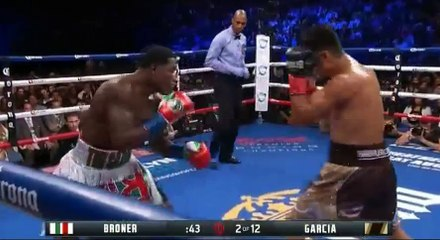 Mikey Garcia vs. Adrien Broner Full Fight