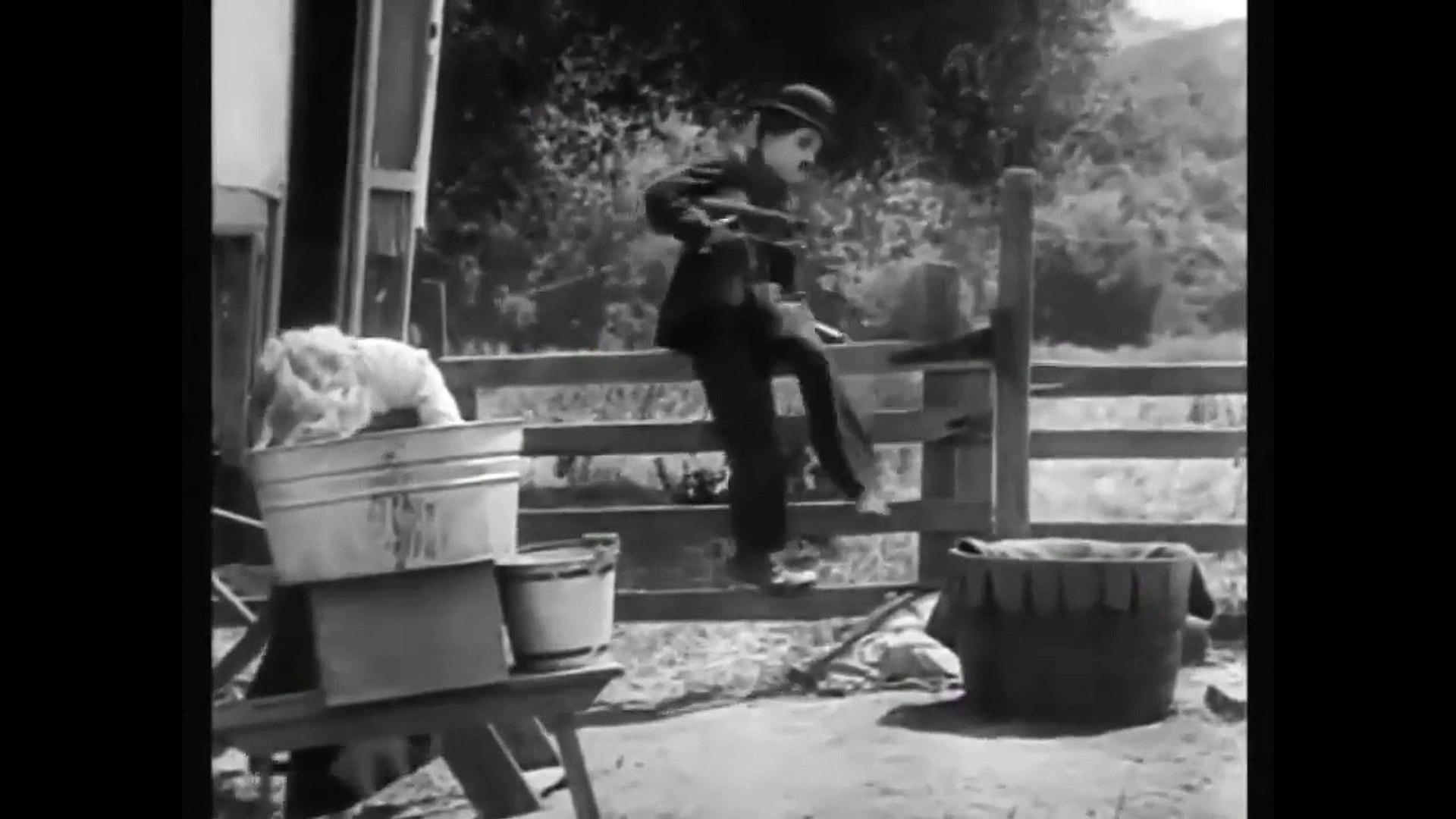 Charlie Chaplin Comedy - The Vagabond (1916)