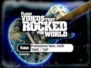 Videos That Rocked The World on fuse!