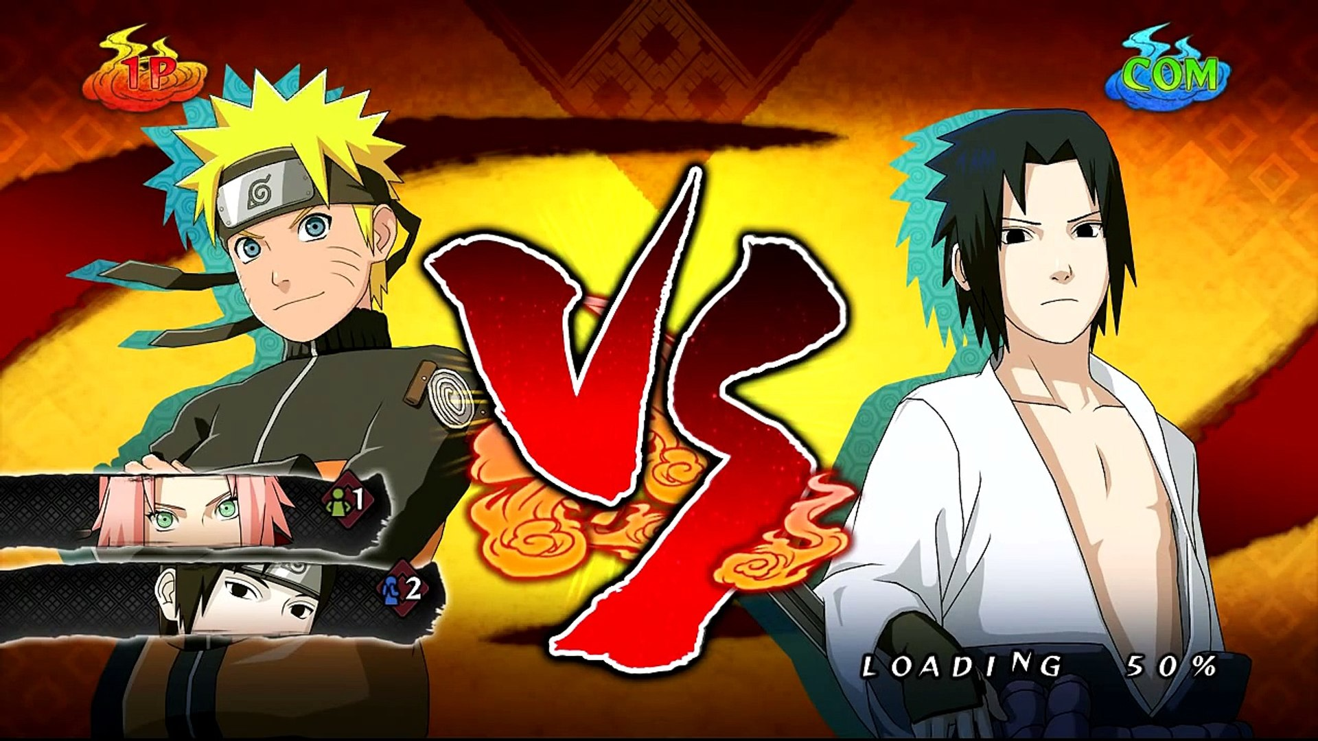 Naruto Shippuden: Ultimate Ninja Storm 2 [HD] - Naruto Vs Sasuke (Boss Battle)
