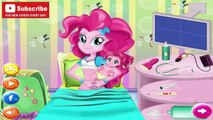 Et bébé naissance tiret petit mon tarte auriculaire poney enceinte arc en ciel éclat crépuscule MLP  