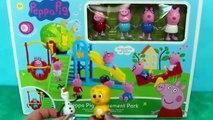 Игрушки Да потому что Да также де де по из также джордж гигант Парк Пеппа свинья рода трем аттракционы слайд куклы