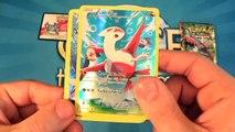 Boîte de ouverture collection légendaire pokemon Hoopa ex allemand / allemand