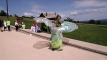 La danse de la fée verte de l'absinthe à Pontarlier