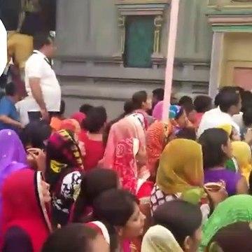 वसुंधरा राजे हाय हाय आज जयपुर में शिव मंदिर म??