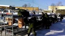 Прикол - Отбой на плацу - Российская Армия