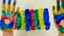 Niños colores familia dedo para Niños Aprender aprendizaje vivero rimas niños pequeños vídeo compilación