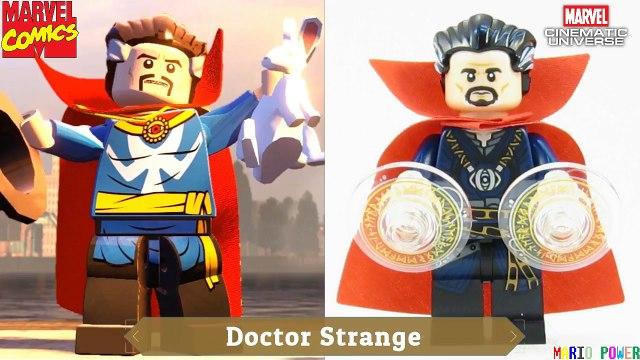 Lego Marvel Comics VS MCU