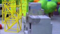 Un et un à un un à construit les dessins animés enfants pour enfant enfants Lion le le le le la tracteur un camion construction 3d 4 tracteur