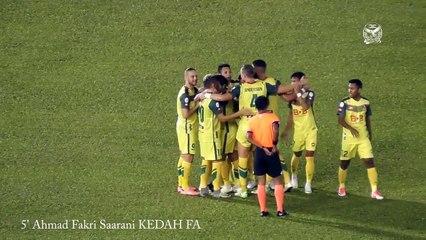 Melaka United 2 - 6 Kedah FA (Highlight HD - Piala Malaysia - 29.7.2017)