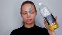 Visage maquillage crayon tutoriel Sfx halloween